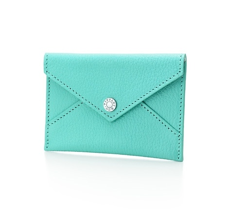Tiffany business card holder things that make my heart for Tiffany business card case