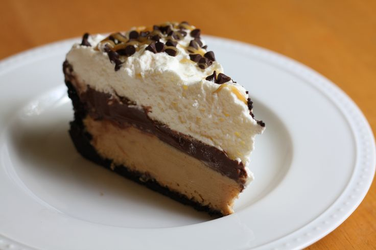 Chocolate Peanut Butter Cream Pie | Cakes/Pies/Tortes | Pinterest