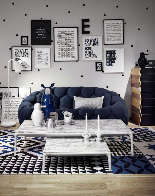polka dot walls