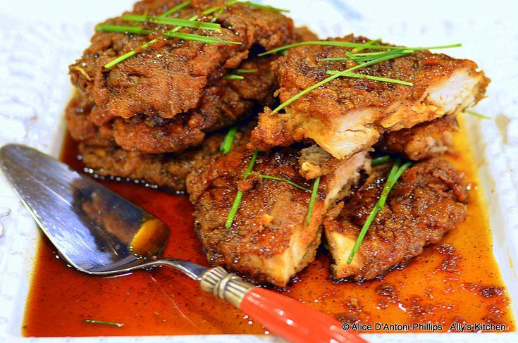 Crunchy Honey Garlic Chicken   Food!   Pinterest