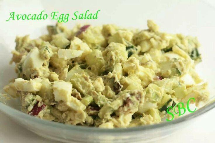 Avocado egg salad | Food | Pinterest