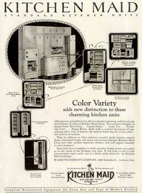 Kitchen Maid : Kitchen Maid  Vintage/Retro Advertising  Pinterest