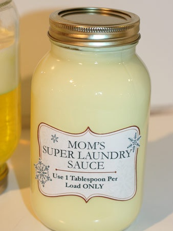 Mom's Super Laundry Sauce-Here is an amazingly simple Do It Yourself