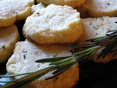 Rosemary Parmesan Shortbread   Lisa's Kitchen   Vegetarian Recipes ...