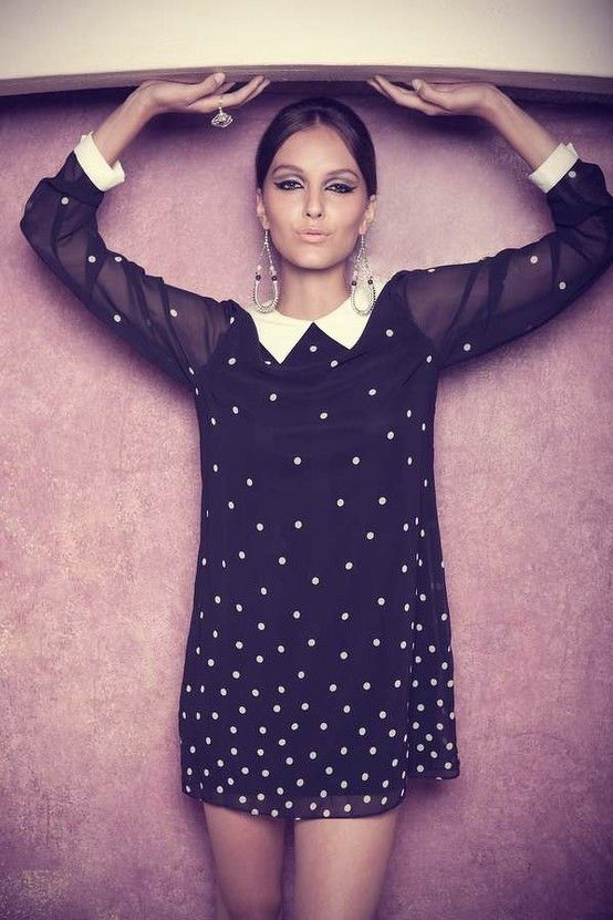 evening handbags clutches What a sweet Polka Dot Dress  Project Ideas