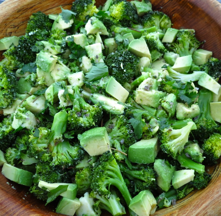 Barely-Blanched Broccoli Salad With Feta And Fried Almonds Recipes ...