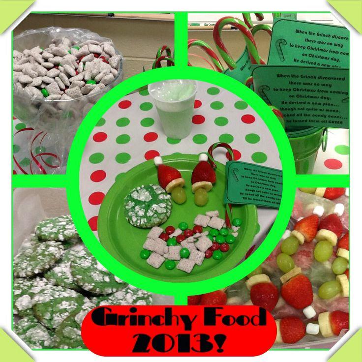 Grinch day | December Classroom | Pinterest