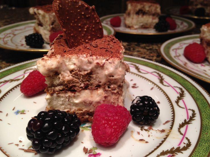 Tiramisu with Bailey's Irish Cream ! | FOOD | Pinterest