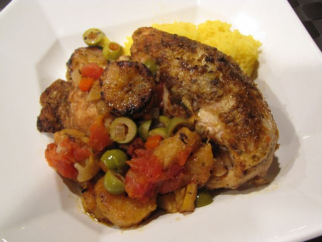 ... Plantains by idiotskitchen - One of the best chicken dishes I've ever