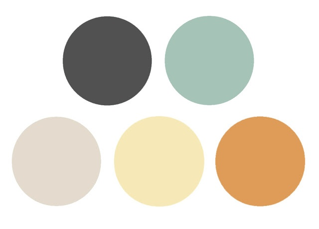 Fridays Palette Yellow Duck Egg Decor Ideas Pinterest