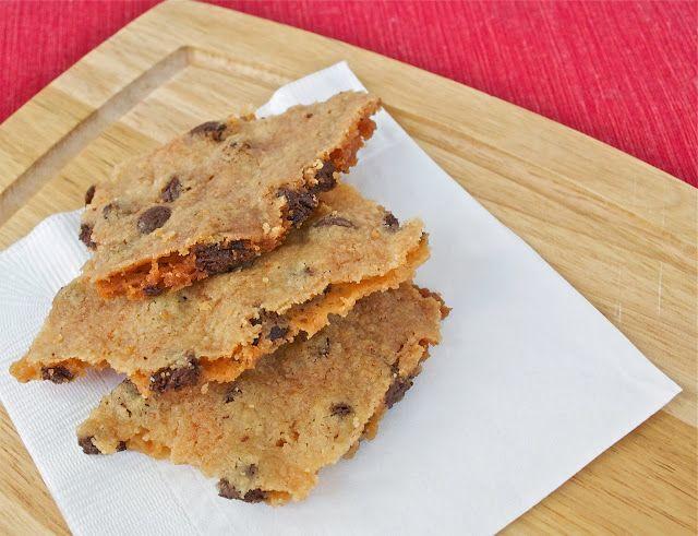 Chocolate Chip Cookie Brittle | Dessert me | Pinterest