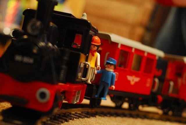 Playmobil train playmobil toys pinterest - Train playmobil ...