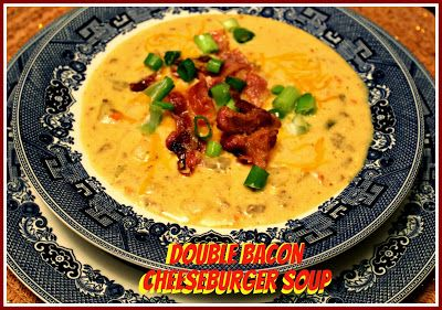 Double Bacon Cheeseburger Soup! | Soups, Stews & Bisques | Pinterest