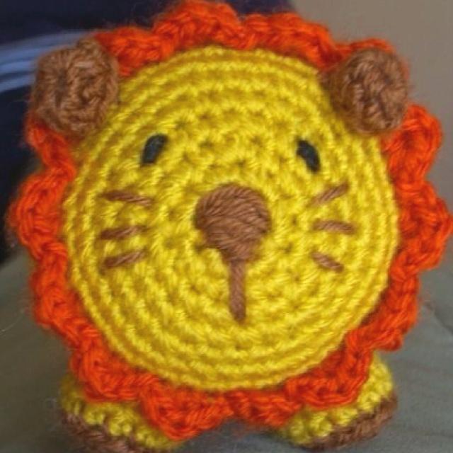 How To Crochet A Lion : Lion, crochet lion, crochet animal Crochet Pinterest