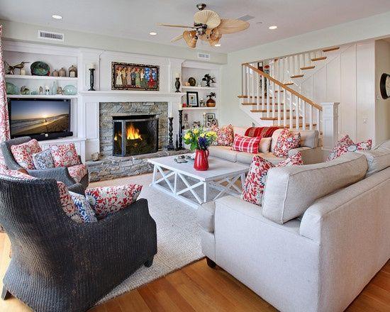 Colorful living room design current remodel ideas for Current living room designs