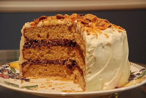 Chocolate-Peanut Butter Cake With Cream Cheese And ...