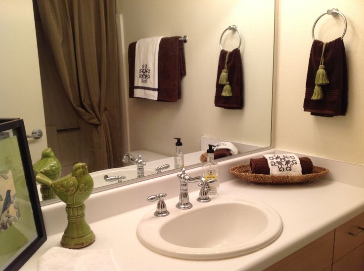 Staged Bathroom Home Sweet Home Pinterest