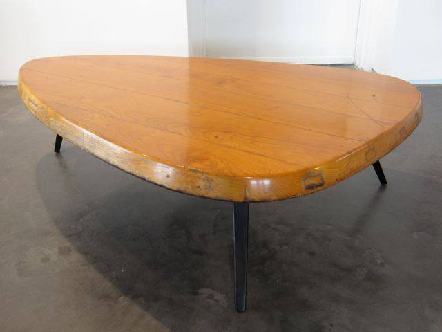 Pin by no pattern required on mid century furniture pinterest - Jean prouve coffee table ...