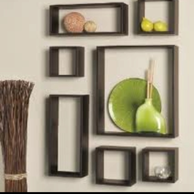 Cube shelves for wall decor decorating ideas pinterest - Cube wall decor ...