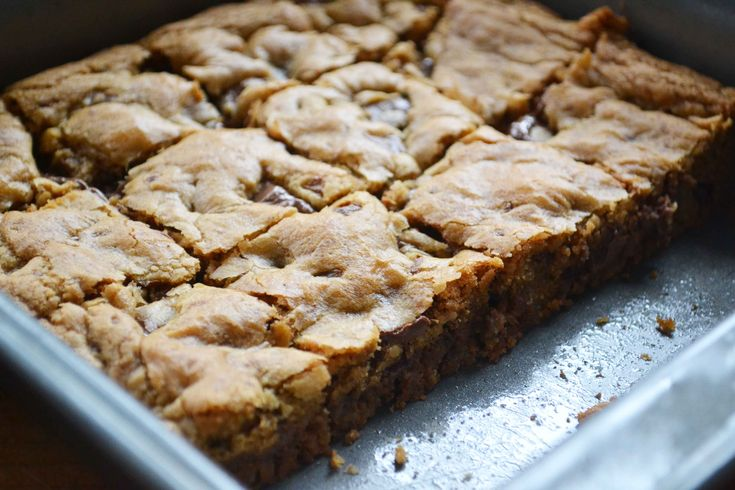 browned butter blondies -made these tonight. Used 1/2 cup butterscotch ...