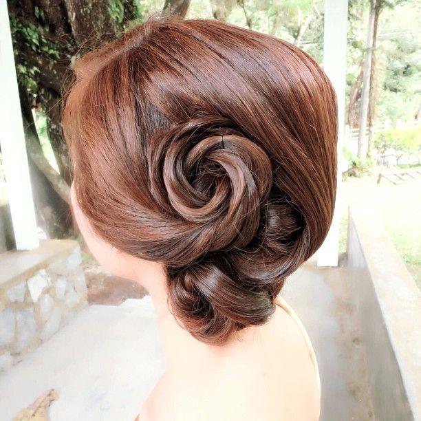 prewedding updo bride jia huan # wedding # updo # hairstyle