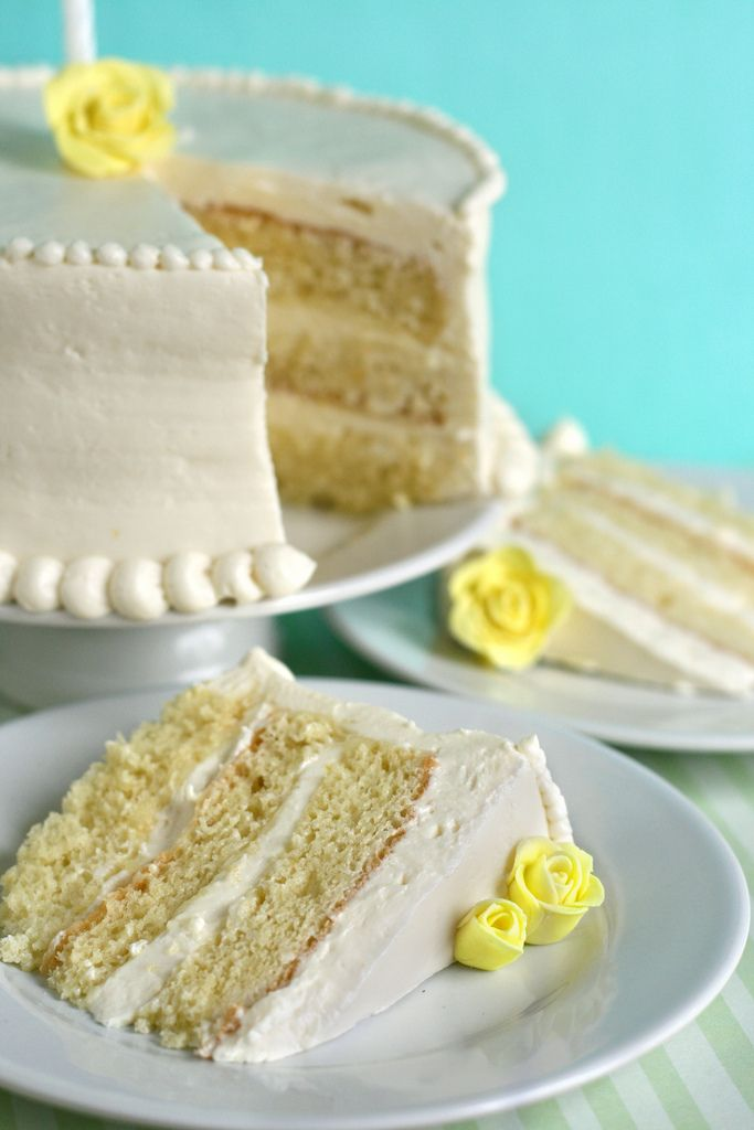 Lemon Chiffon Cake | Cakes | Pinterest