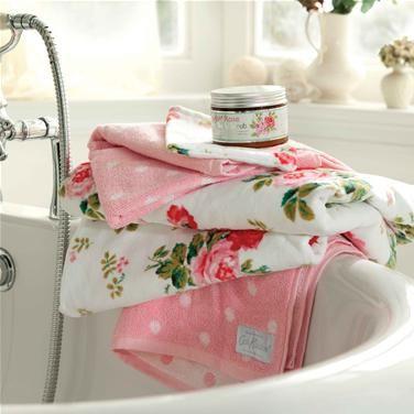 Cath Kidston Antique Rose Towels