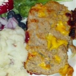 Incredibly Cheesy Turkey Meatloaf | Recipe