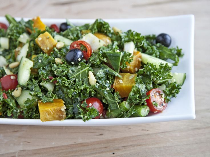 Massaged Kale Salad with Golden Beets and Asparagus Vegan, Toddler ...