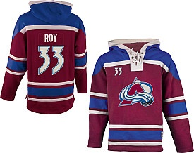 Patrick Roy Avalanche hoodie by Old Time Hockey