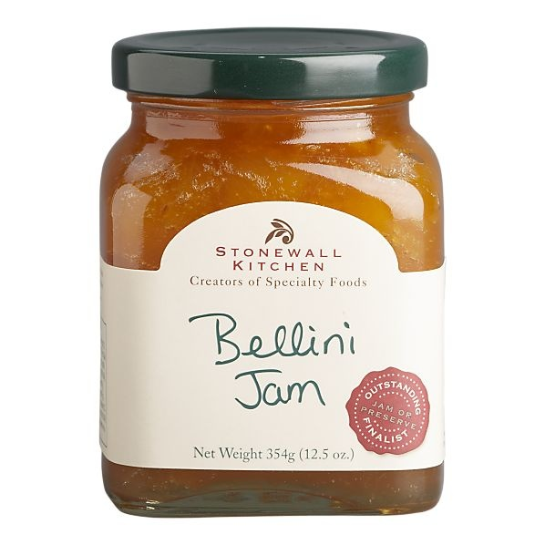 Bellini Jam (from Stonewall Kitchen). Delicciiouuss!