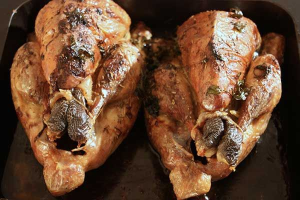Herb-Roasted whole Chicken recipe | Yummy for the Tummy | Pinterest