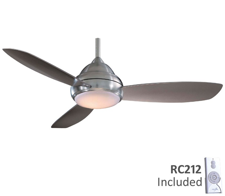 Minka Aire F517 BN Concept I Brushed Nickel 52 Ceiling