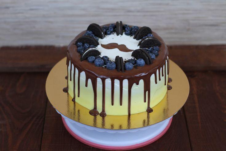 Дизайн тортов для мужчин
