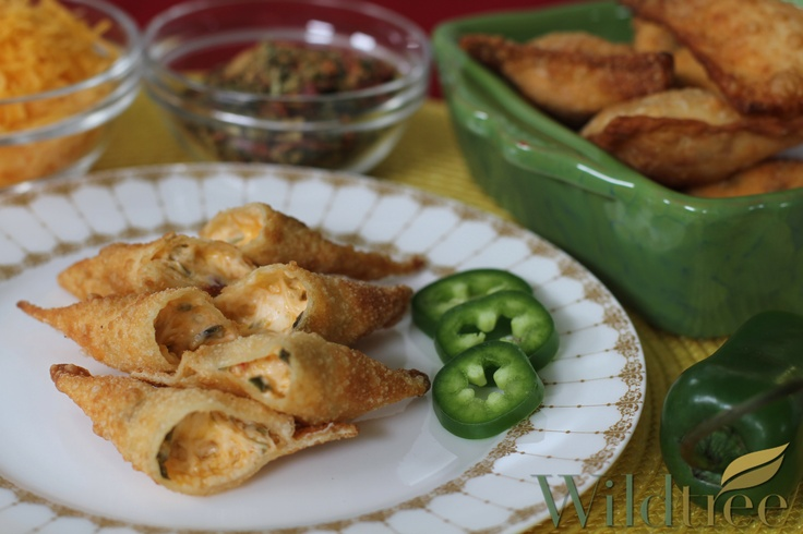 Jalapeno Popper Wontons! www.Facebook.com/wildtreeofficial Order at ...