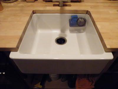 Undermount Sink Ikea : Ikea Domso Sink as Undermount Interiors - Kitchen Pinterest
