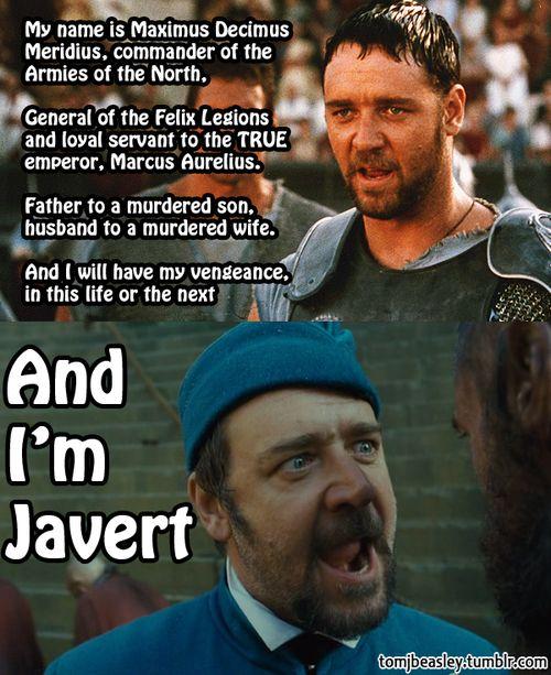 Russell crowe javert meme