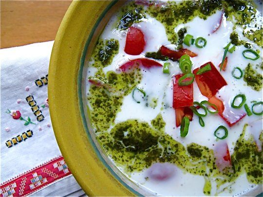 Recipe: Chilled Buttermilk Soup for Hot Summer Days