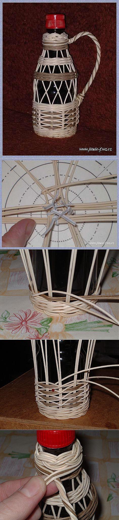 Подробное плетение газетными трубочками