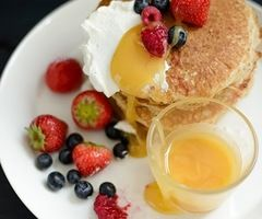 pancakes... lemon curd? | Bonissim! ÑaM! | Pinterest