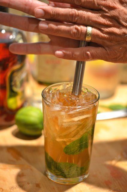 Queen's Park Swizzle Cocktail | Drink It! | Pinterest