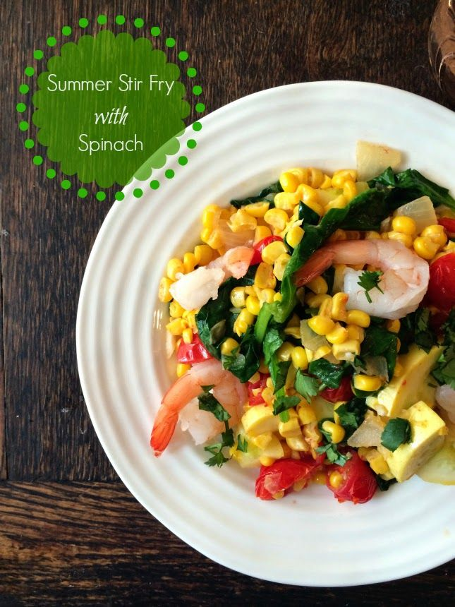 Summer Stir-Fry is light, healthy and perfect for using up your ...