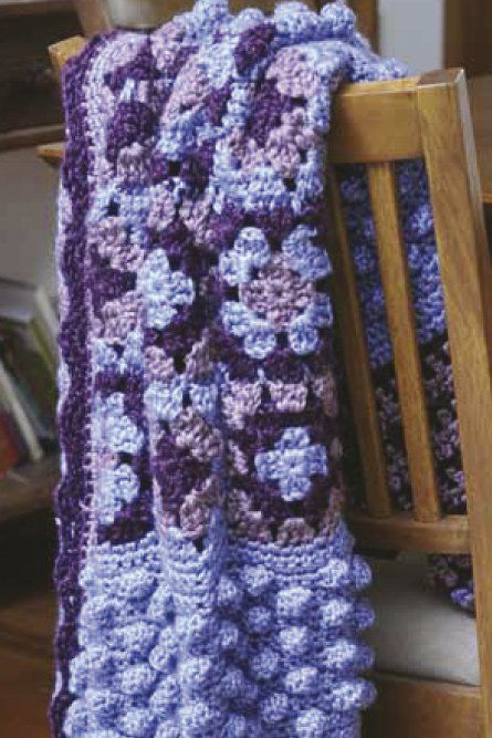 Spotlight Crochet Patterns : Free Crochet Pattern: Panda TempoCountry Throw - Project - Spotlight ...