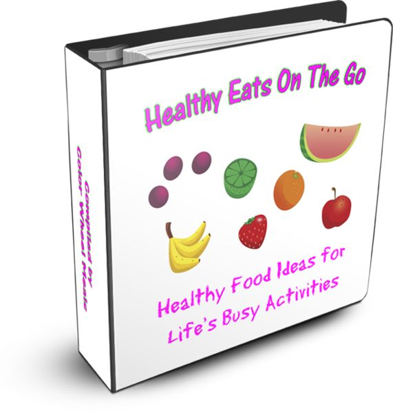 Healthy Eats On The Go-just released ebook from Color Wheel Meals!!  http://colorwheelmeals.com/2012/05/25/healthy-eats-on-the-go-new-ebook-available/
