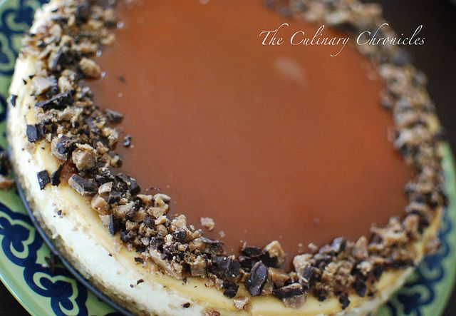Toffee Crunch Caramel Cheesecake by The Culinary Chronicles, via ...