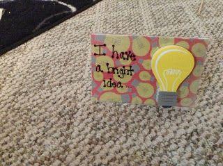 """for """"Bright Ideas"""""""