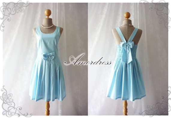 Spell vintage inspired summer party dress blue dress party