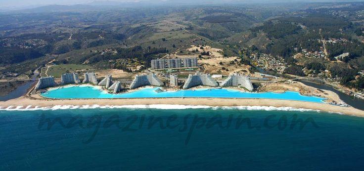 La piscina m s grande del mundo viajes pinterest for Piscinas del mundo