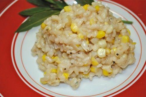 Sweet Corn Risotto Recipe — Dishmaps