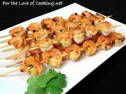 Orange-Ginger Shrimp Skewers   Great Food   Pinterest